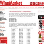 Voucher Giveaway: $30, $20 and $10 Discount on All Wine at WineMarket