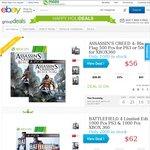 eBay Group Buy - Batman: Arkham Origins $56 | Battlefield 4 $62 | Assassin's Creed 4 $56 Delivrd