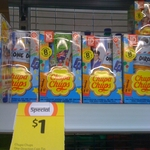1Direction Money Box with 8 Chupa Chups Included for $1 at Coles - The Barracks (Brisbane)