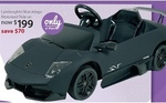Lamborghini Murcielago Motorised Ride on $199 @ Myer
