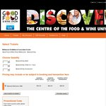FREE Good Food & Wine Show Melbourne Double Pass - General Entry, Any Day, 30th May – 1st June
