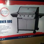 RedCentre 4 Burner + 1 Side Burner BBQ Runout $129 - Instore Only @ Masters