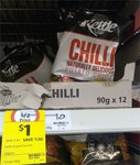 Kettle Chilli Chips 90g $1 @ Coles Concord NSW - Was $2.50 (60% off)