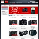 Canon 12 Hour Flash Sale - on This Thursday