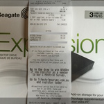 Seagate Expansion 3TB USB3 $99 at Australia Post
