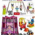 Action 4 Unit Swing Set, Slide and Jumper $90 at Big W