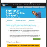 IceTV Recieve 50% off Any Subscription