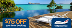 $75 Off Hotel Booking with Webjet [Min Spend $500 AmEx]