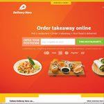 Delivery Hero $10 off $20 Minimum Spend (App & Website)