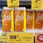 Farmers Union Feel Good Ice Coffee 600ml $1 at Woolworths Brickworks Thebarton SA Monday 6 July