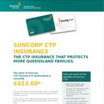 Switch Your CTP to Suncorp for a $50 EFTPOS Gift Card/Donation to YoungCare [QLD Only] - Again