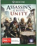 Assassin's Creed Unity XB1 $28 @ Harvey Norman