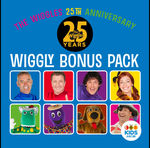 Free: The Wiggles 25th Anniversary Wiggly Bonus Pack