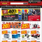 40% off Carby Cleaner ($4.49), Brake Cleaner ($4.49), WD40 ($6.90) for Club Plus Members @ Supercheap Auto