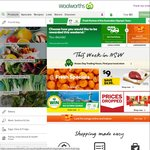 Woolworths Online - $15 Woolworths Dollars or Free Delivery on $150 Spend