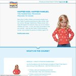 Triple P Positive Parenting Program Free (QLD Gov Funded Trial) Save $79.95