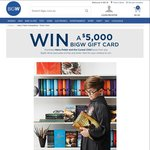 Win a $5,000 BIG W Gift Card from BIG W - Purchase Harry Potter and The Cursed Child in-Store