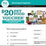 $20 off First Pet Food Order at PetCircle.com.au