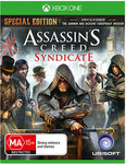 Assassin's Creed Syndicate Xbox One [20 Only, AU Spec Edition $62 off] $25.88 + Free Delivery for 24 Hours @ SellingOutSoon