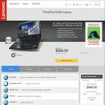 """Lenovo ThinkPad E460 i7-6500U, 14"""" FHD, 256GB SSD, 8GB RAM, 2GB Radeon $888 Shipped @ Lenovo"""