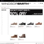 50% off Windsor Smith (Selected Styles) [Online] + Free Shipping