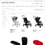 Bugaboo Bee3 (Base+Seat Fabric+Sun Canopy) from $588.20 + Free Standard Shipping @ David Jones Online
