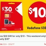 Vodafone $30 Starter Kit for $10 (Activate for 4GB Data) @ 7-Eleven [App Req'd]