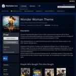 [AU PSN Store] PS4 Wonder Woman Theme Free