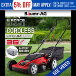 Baumr-AG Electric Lithium Cordless Lawn Mower -E-FORCE 360 II $249 Free Shipping @ Edisons