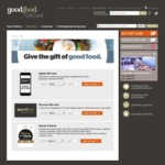 $50 off $250 Gift Cards (20% off) @ Good Food Gift Card