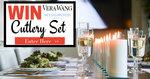 Win a Wedgwood Vera Wang Harrow Cutlery Set Worth $199 from Tableking
