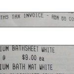 Inspire Premium Bathroom Products On Sale (Clearance?) At Woolworths - e.g. Bathsheets $9 (Were $26), Bathmats $6 (Were $16)