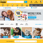 20% off Sitewide + Free Shipping - No Minimum Spend @ Petbarn (Some Exclusions Apply)