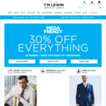T.M. Lewin - Shirts and Ties $35ea, Everything Else 30% off