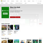 Xbox Live Gold 1 Month for $1 @ Microsoft (New Memberships Only)