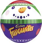 Cadbury Favourites Snowman Bowl 700g $12.50 @ Woolworths
