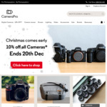 10% off All Cameras @ CameraPro