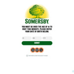 Somersby Cloudy Apple Cider 375ml $15 for 10 Pack Via BWS Redemption (First 5000 Only)