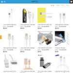 USB Cable Sale 20% off Samsung Genuine Micro USB Cable 1.2m $6.20 Shipped @ Geardo