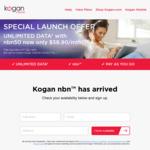Kogan NBN Broadband Launch Offer: 50mbps Unlimited $58.90/Mth + $69 Modem (For First 24 months)