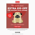 $10 off at Scoopon (Spend $39 or More on Local Experience Offers Only)