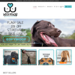 20% off Storewide* @ Woof N' Wag Dog Supply Store