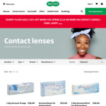 Specsavers 20% off on $119 or More Contact Lens Spend