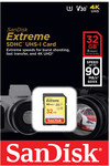 SanDisk Extreme 32GB SDHC UHS-I Card $17 (Was $39) up to 90 MB/s @ Bing Lee Free C&C or Shipped via eBay Plus @ Bing Lee eBay