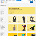 20% off 56 Select Stores @ eBay (Allphones, Dell, Grays, KG, Futu, and More)