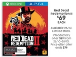 [PS4/XB1] Red Dead Redemption II $69 @ Target