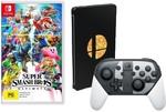 Super Smash Bros Ultimate Bundle $199 (Pre-Order), Uncharted Trilogy $22, Last of Us $22, Animal Crossing New Leaf $25 @ Big W