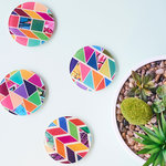 Set of 4 Designer Coasters for $9.99 (Was $29.99) + $1.95 Delivery @ Neon Pear