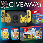 Win a Pokemon Let's Go! Eevee Edition Nintendo Switch Bundle with Pokeball Plus Worth $599 from AuSLove