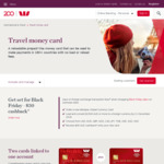$30 Cashback on Travel Money Card ($1500 Load Required) @ Westpac, St. George, BankSA and Bank of Melbourne